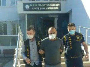 Polise kafa atan tacizci tutuklandı