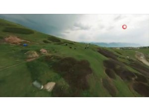 Yarış drone kamerasından eşsiz Karadeniz turu