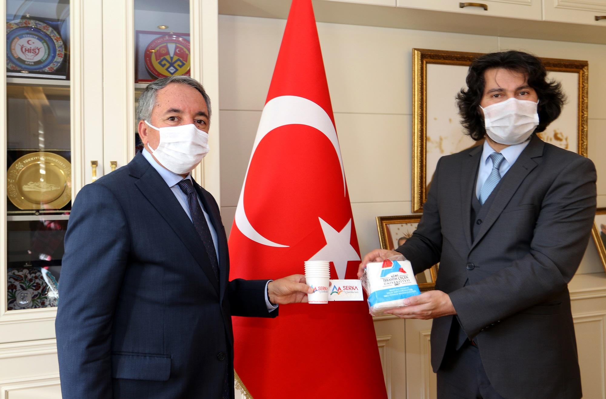 İbrahim Çeçen Üniversitesi'nde Engellilere Yönelik Örnek Proje