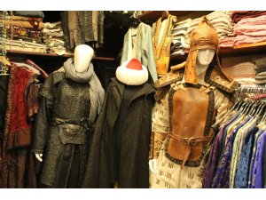 Hollywood filmlerinin kostümleri tarihi Kapalıçarşı'da üretiliyor