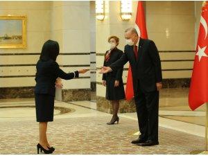Cumhurbaşkanı Erdoğan, Malta Büyükelçisini kabul etti