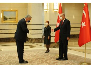 Cumhurbaşkanı Erdoğan, Almanya Büyükelçisini kabul etti