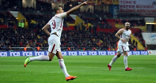 Galatasaray Kayseri'de rahat kazandı