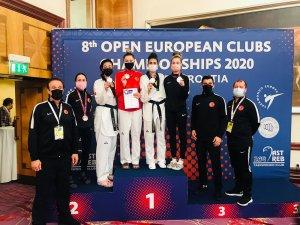 Milli taekwondoculardan 2 altın, 2 gümüş, 1 bronz madalya