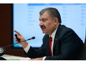 """Sağlık Bakanı Koca: """"COVID-19'a karşı aşı geliştirme çalışmaları yarışında biz de varız"""""""
