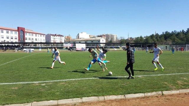 Saldırıya  maruz kalan Ağrı Spor 1 puanla döndü