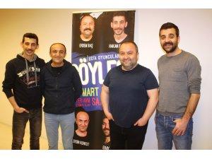 4 usta oyuncu Diyarbakır'da sevenleriyle buluştu