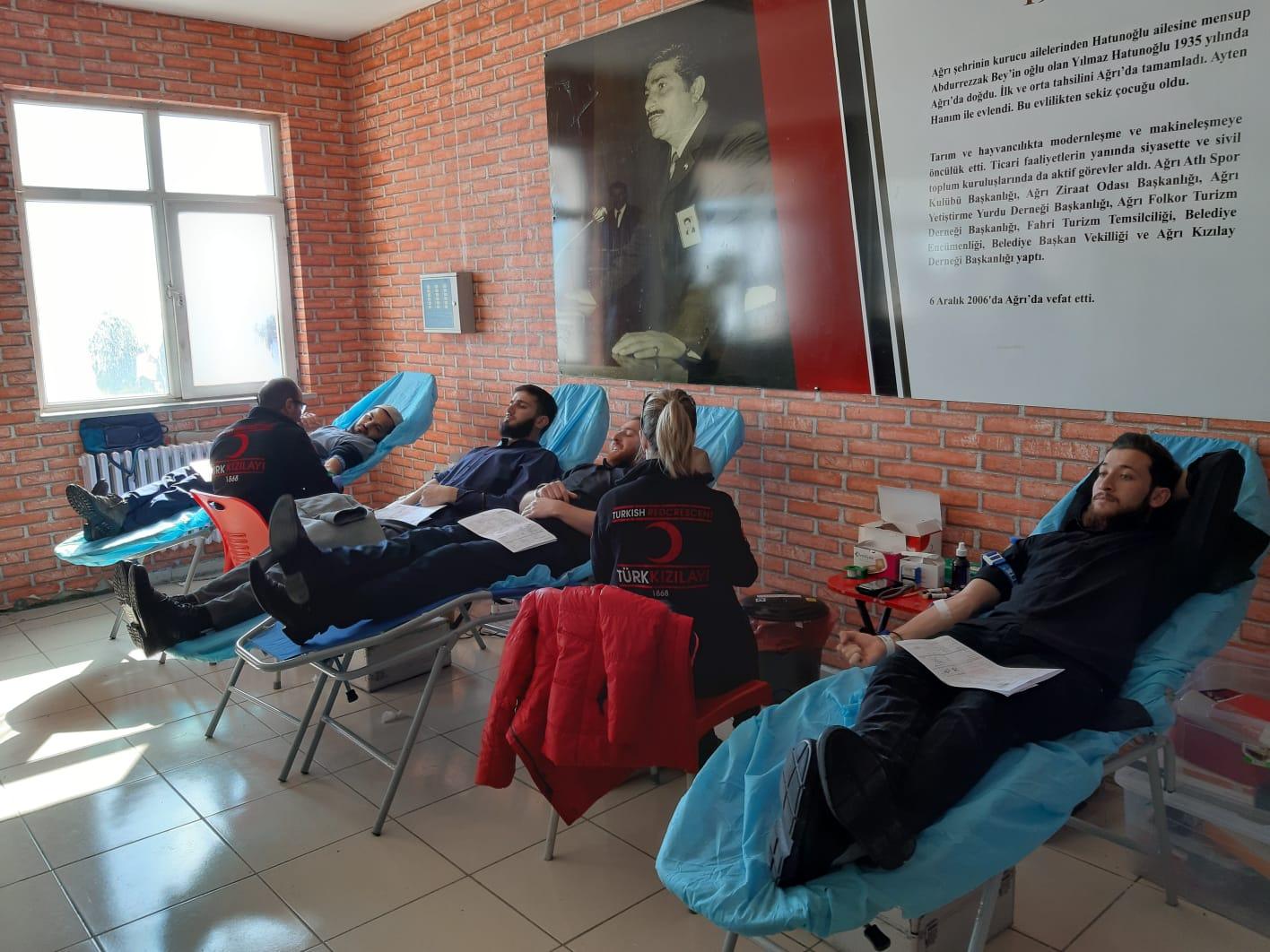 Yılmaz Hatunoğlu Anadolu Lisesi'nden Kan Bağışı