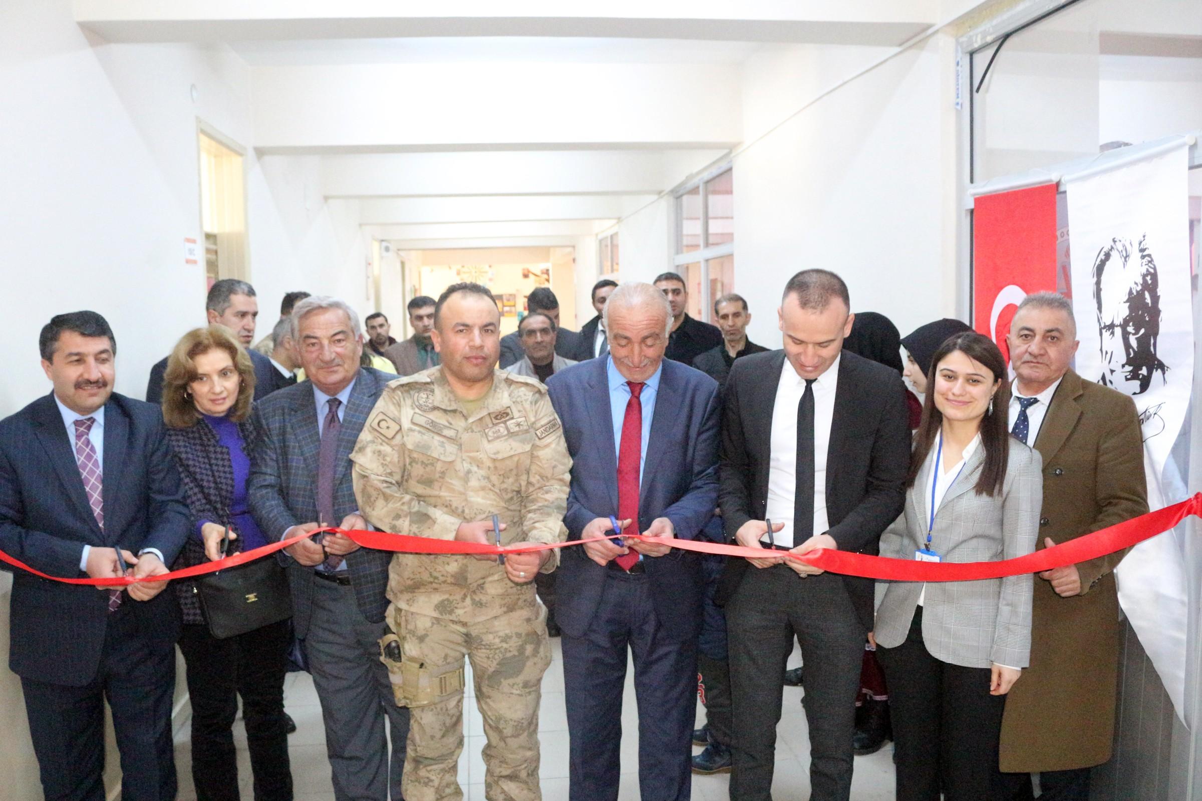 """Eleşkirt'te """"Geçici Kültür Müzesi""""nin açılışı yapıldı"""