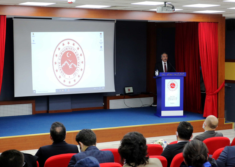 Ağrı Turizm Tanıtım Paydaşları Ortak Akıl Toplantısı gerçekleştirildi
