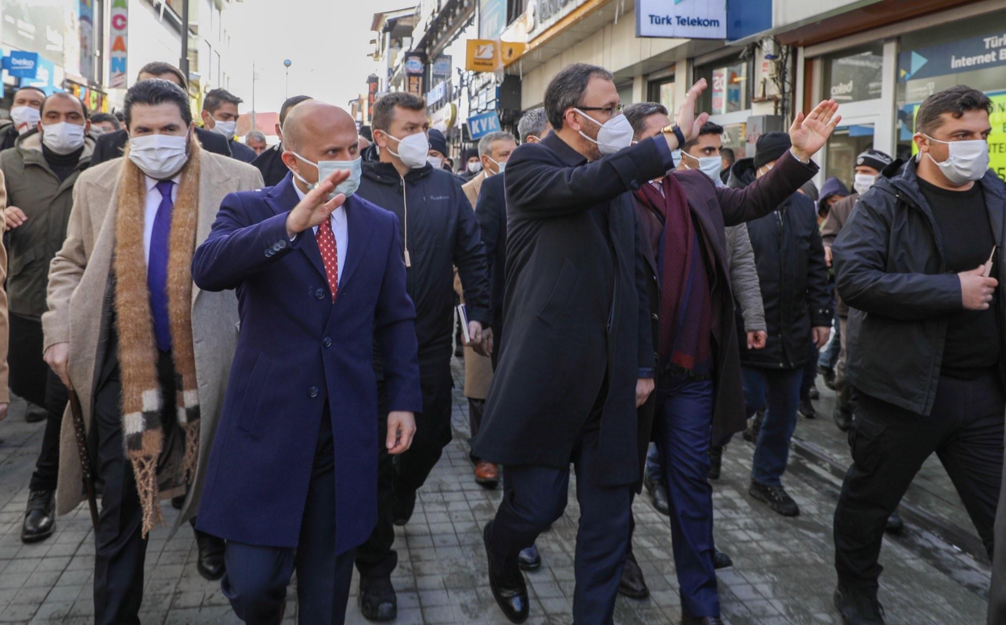 Bakan Kasapoğlu'nun Ağrı ziyareti