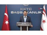 """KKTC Başbakanı Saner: """"KKTC'li vatandaşlar için 10 bin aşıya daha ihtiyaç var"""""""