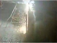 İstanbul'da metro hattında korku dolu anlar: Elektrik telleri havai fişek gibi patladı