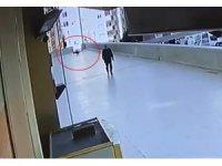 16 yaşındaki gencin 12'nci kattan düşmesi kamarada