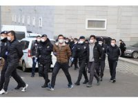 Suç örgütü operasyonu: Aralarında emniyet müdür yardımcısının da bulunduğu 31 kişi adliyede