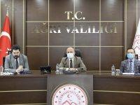 Ağrı'da Gıdakent Projesinin ele alındığı çalışma grubu toplantısı düzenlendi