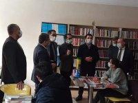 """Ağrı'da """"Kitap Kahvemle Zihinler Değişsin, Türkiye Gelişsin"""" projesi hayata geçirildi"""