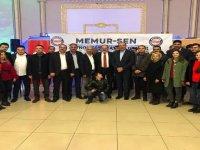 Memur-Sen Patnos teşkilat buluşması yapıldı