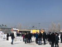 Ağrı'da 'Kar ve Buz Festivali' başladı