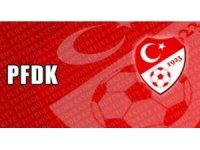 PFDK, Mustafa Muhammed'e 1 maç men ve 13 bin TL para cezası verildiğini açıkladı