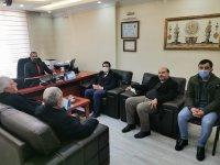 Mehmet Nuri Yıldız, Muhasebeciler haftası nedeniyle Ağrı'da çalışan Muhasebecileri ziyaret etti