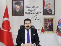 Başkan Sayan'dan anlamlı teşekkür mesajı