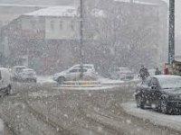 Ağrı için kuvvetli kar yağışı uyarısı