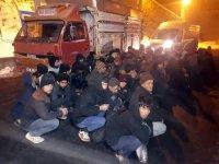 Ağrı'da göçmen şebeke çökertildi