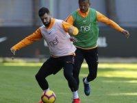 Galatasaray'da Yeni Malatyaspor maçı hazırlıkları sürüyor