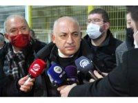 """Mehmet Büyükekşi: """"Hakemlerden memnun değiliz"""""""
