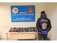 Gümrük Muhafaza Ekiplerince Kapıkule'de 200 bini aşkın uyuşturucu hap ele geçirildi