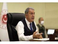 Milli Savunma Bakanı Hulusi Akar'dan Rusya ve Ukrayna mesajı