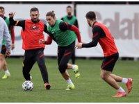 Galatasaray'da Arda ve Kerem takımla çalıştı