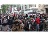 Viyana'da İsrail karşıtı protesto