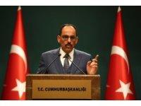 """Cumhurbaşkanlığı Sözcüsü Kalın, """"Türkiye Filistin halkının yanında olmaya devam edecektir"""""""