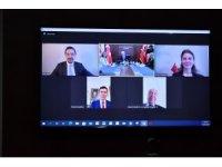 MHP'de partiler arası bayramlaşma video konferansla yapıldı