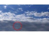 UFO sanıldı, meteoroloji balonu çıktı