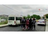Arnavutköy'de bir esnafa tehdit ve şantajla baskı yapan şebeke çökertildi