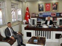 Ağrı Milli Eğitim Müdürü Tekin'den AK Parti Ağrı İl Başkanı Özyolcu'ya ziyaret