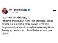 """Sağlık Bakanı Koca: """"Amasya'yı kutluyoruz"""""""