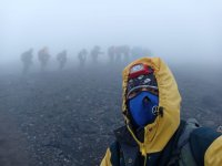 Ağrı Dağı'nda mahsur kalan dağcılar kurtarıldı