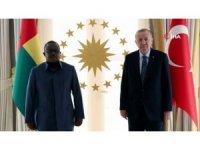 Cumhurbaşkanı Erdoğan, Gine Bissau Cumhurbaşkanı Cissoko Embalo'yu kabul etti