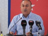 """Bakan Çavuşoğlu: """"Yangını yarın tamamen kontrol altına almayı hedefliyoruz"""""""
