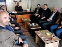 Savcı Sayan Bulanık'ta ziyaretler yaptı