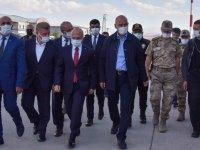 İçişleri Bakanı Soylu taziye ziyareti için Ağrı'da