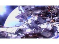 Astronotlar Uluslararası Uzay İstasyonu'nda uzay yürüyüşü gerçekleştirdi