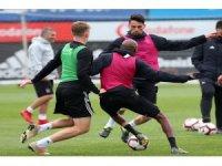 Beşiktaş, Sivasspor maçının taktiğini çalıştı