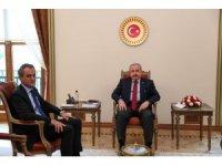 TBMM Başkanı Şentop, Milli Eğitim Bakanı Özer'i ağırladı
