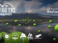 Ağrı'da Ulusal Tenis Turnuvası düzenleniyor