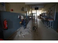 Selin vurduğu Bozkurt'ta okullar eğitim öğretime hazırlanıyor